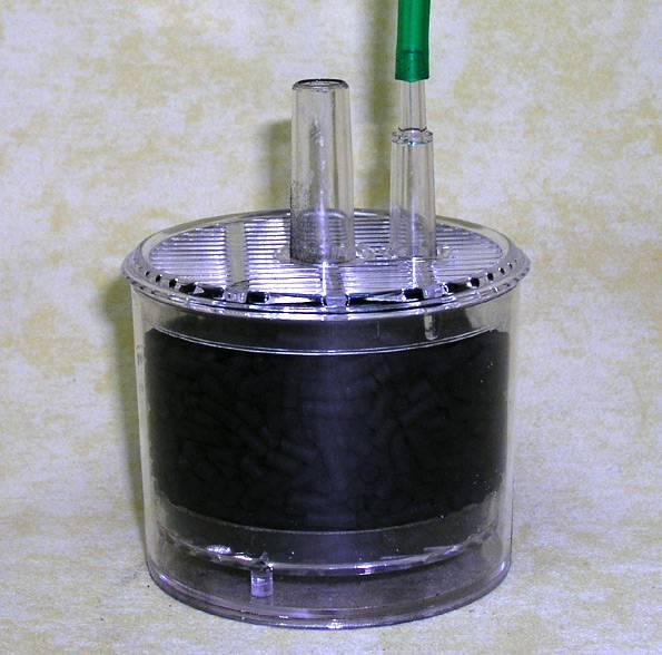Minimediumfilter mit Aktivkohle
